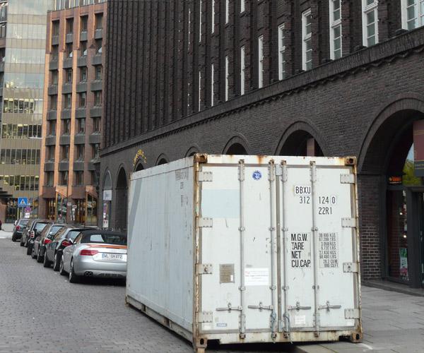 Vermietung Container